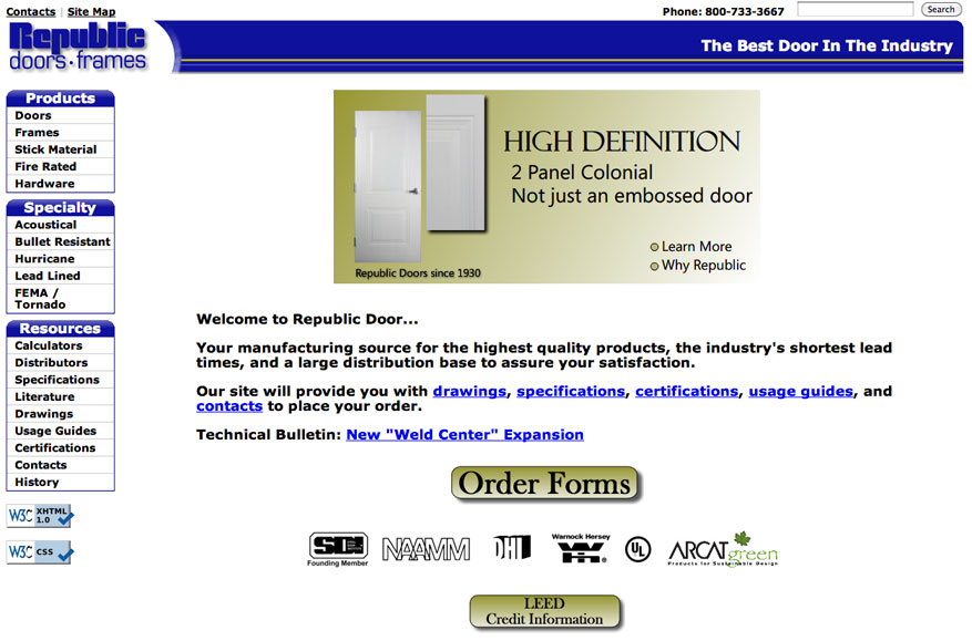 Republic Doors  sc 1 st  Commercial Door and Hardware & Commercial Door and Hardware - Hollow Metal Doors and Frames